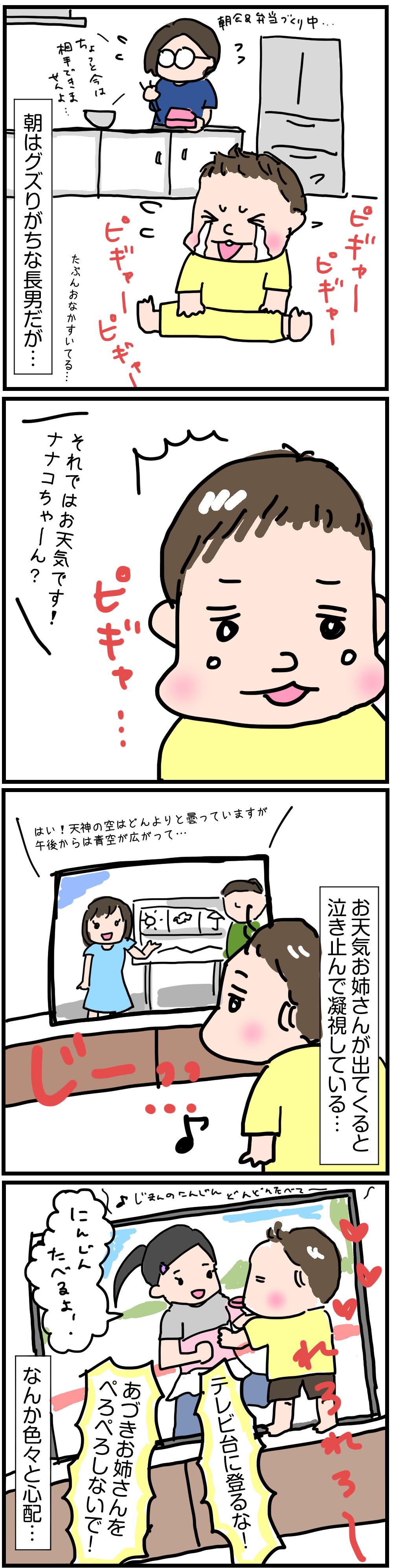 女好き?1歳の長男の漫画